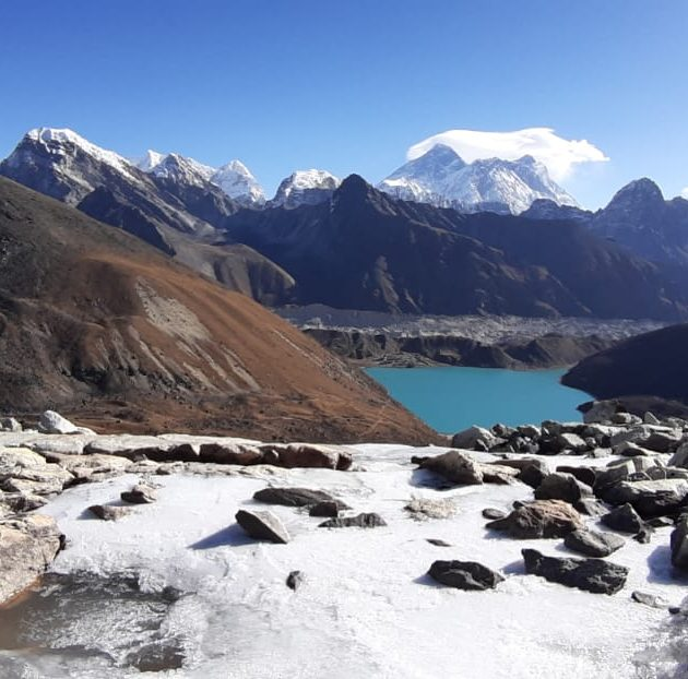 Everest Base Camp Trek via Gokyo Lakes & Cho La Pass